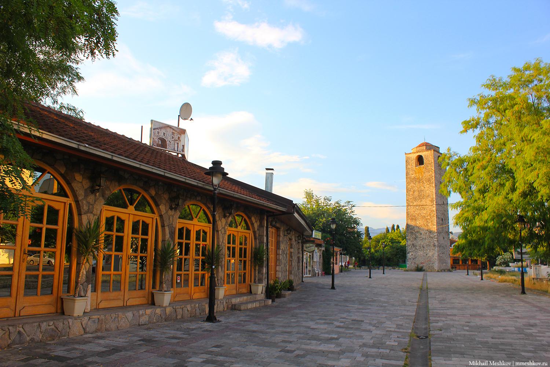 Часовая башня в Подгорице