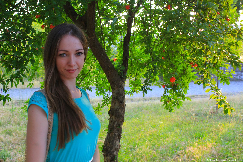 Натали в парке Подгорицы