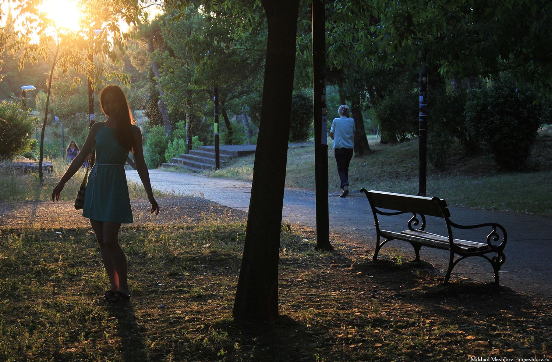 В парке Подгорицы