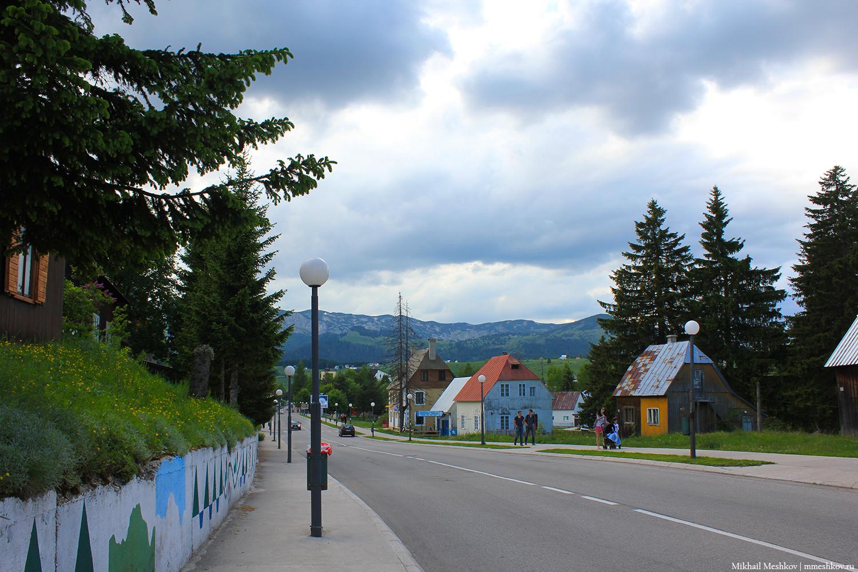 Улицы Жабляка, Черногория