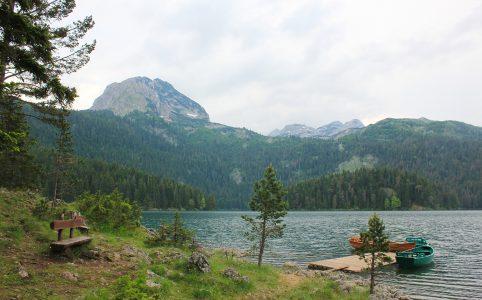 Пейзаж Черного озера, Черногория