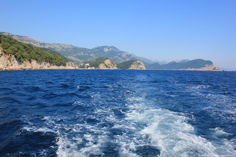 Морская прогулка, Черногория