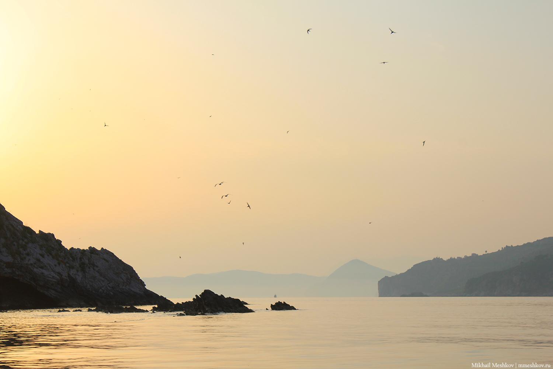 Закат на Адриатическом море