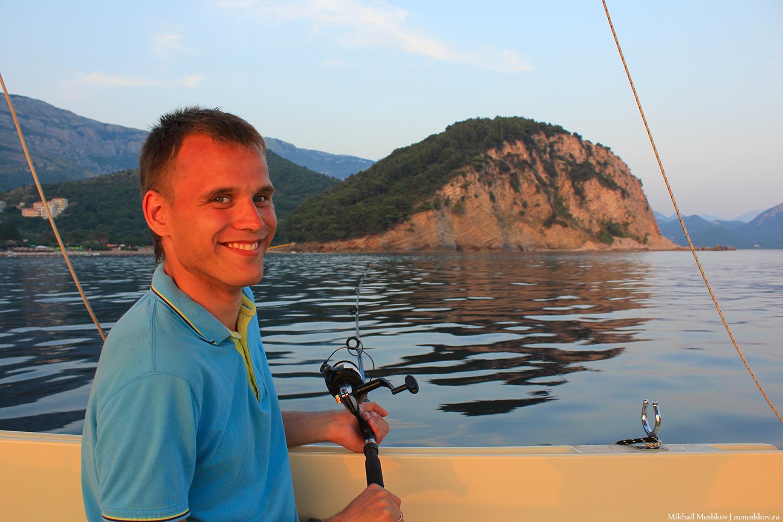 Михаил Мешков, Черногория