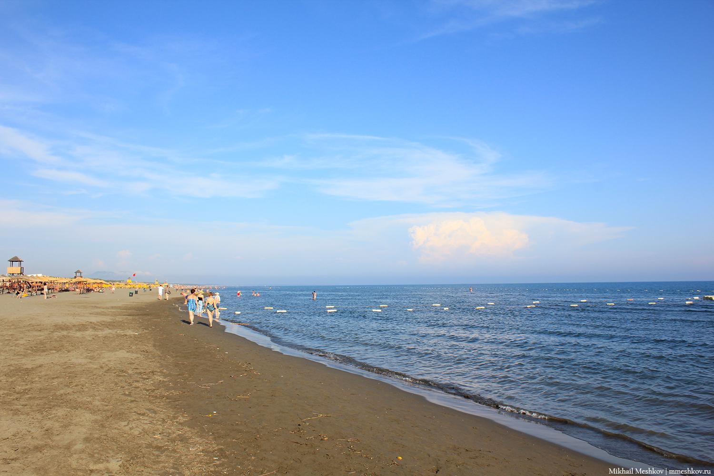 Великий пляж, Черногория